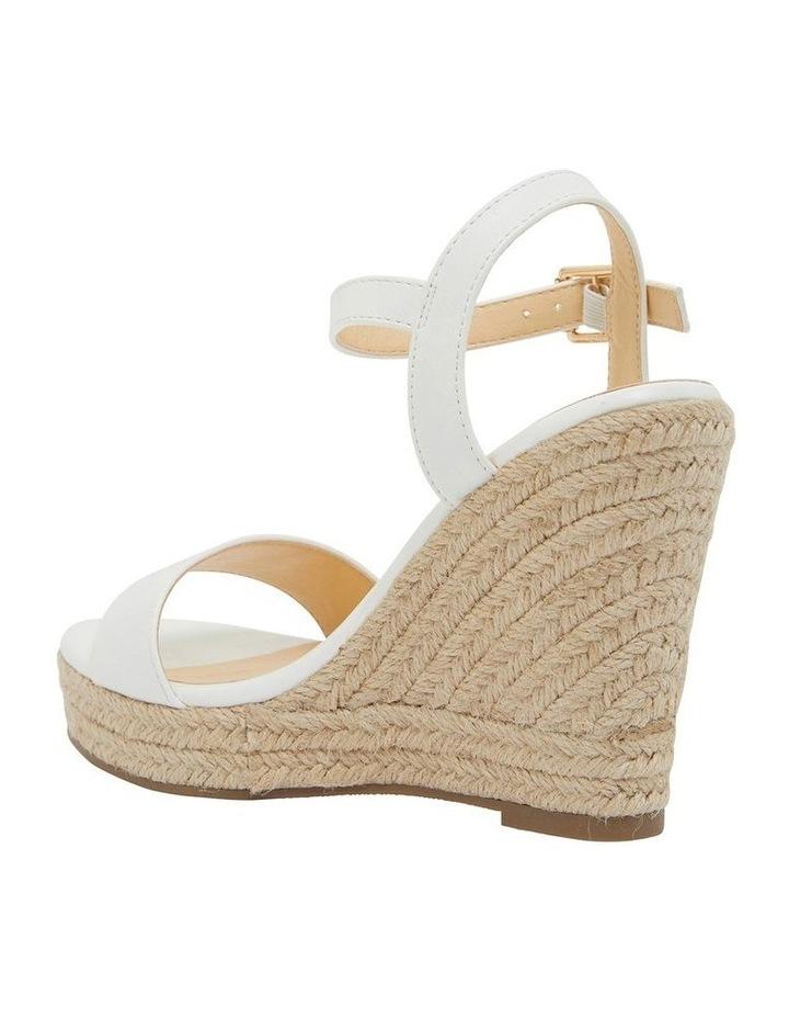 Amato White Smooth Sandals image 7