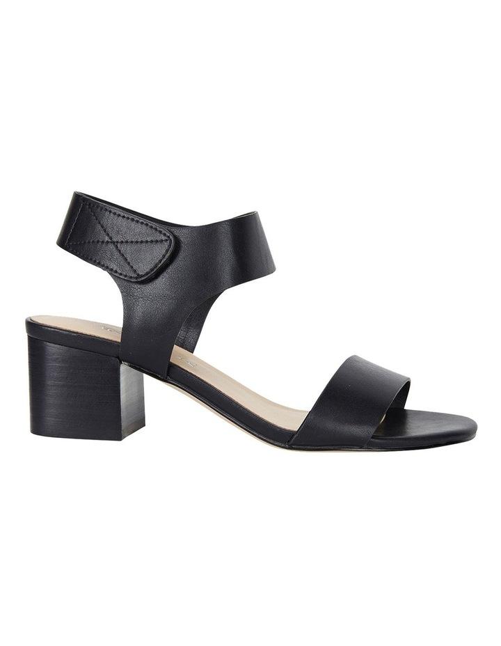 Elesha Black Smooth Sandals image 1