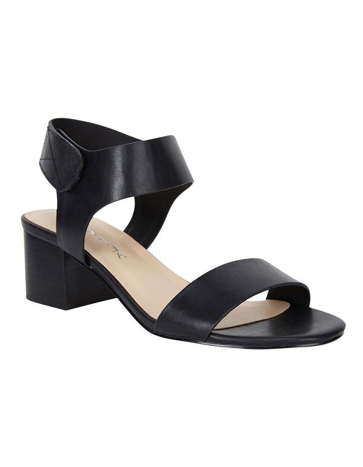 Elesha Black Smooth Sandals image 2