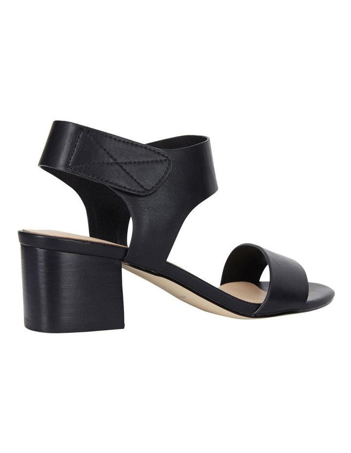 Elesha Black Smooth Sandals image 3