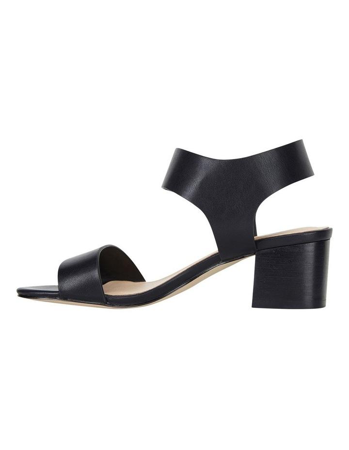 Elesha Black Smooth Sandals image 4