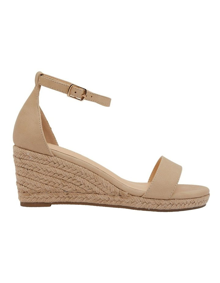 Bloom Nude Smooth Sandals image 1