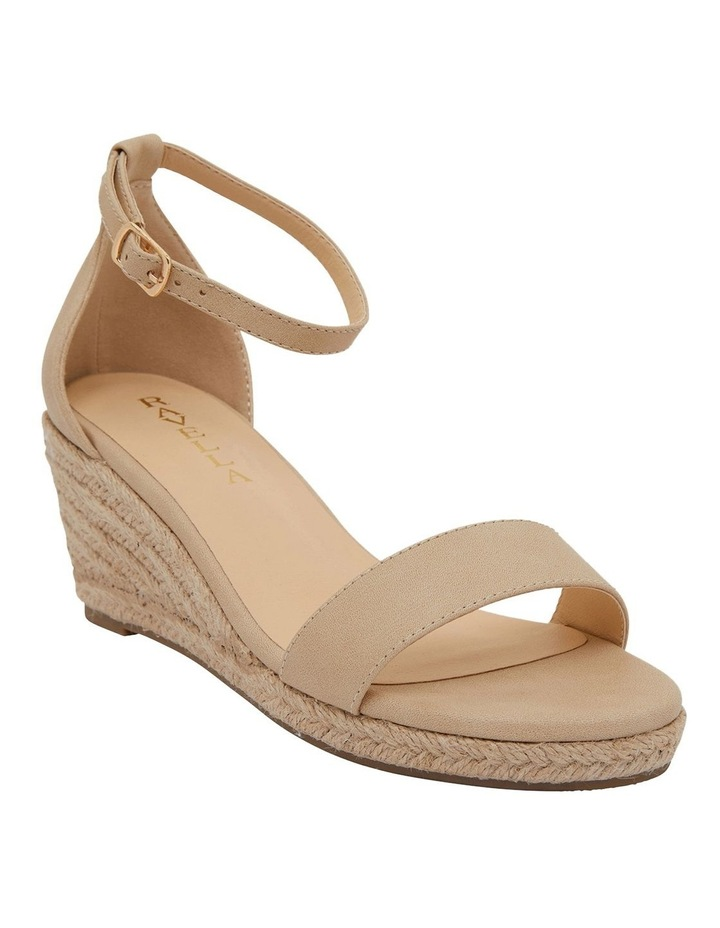 Bloom Nude Smooth Sandals image 2