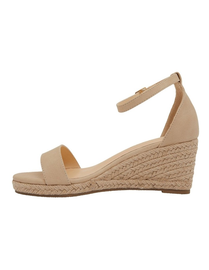 Bloom Nude Smooth Sandals image 3
