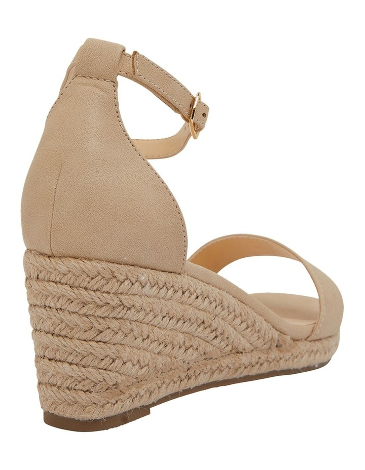 Bloom Nude Smooth Sandals image 4