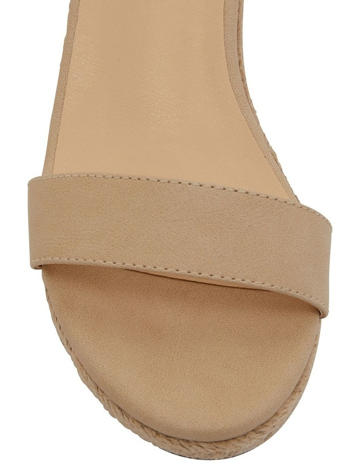 Bloom Nude Smooth Sandals image 6