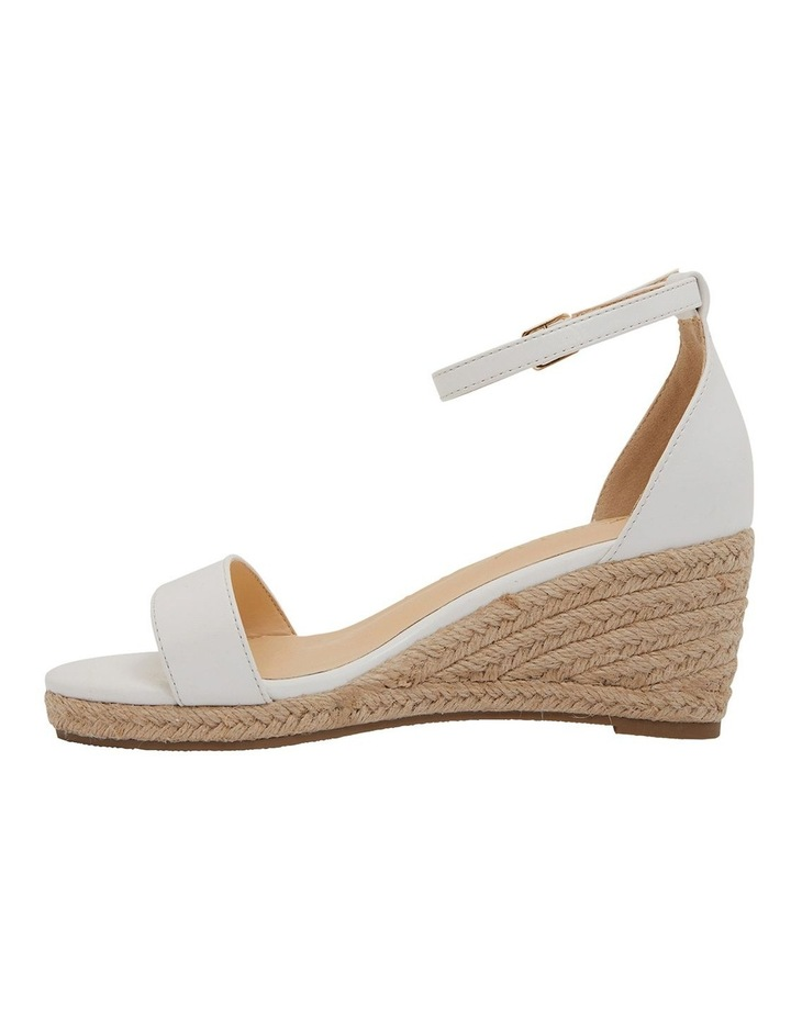 Bloom White Smooth Sandals image 3