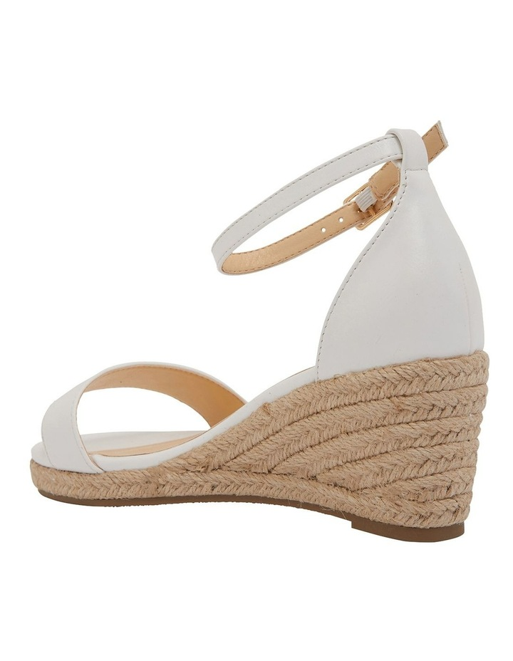 Bloom White Smooth Sandals image 7