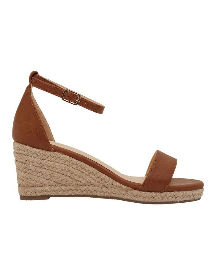 Bloom Tan Smooth Sandals image 1