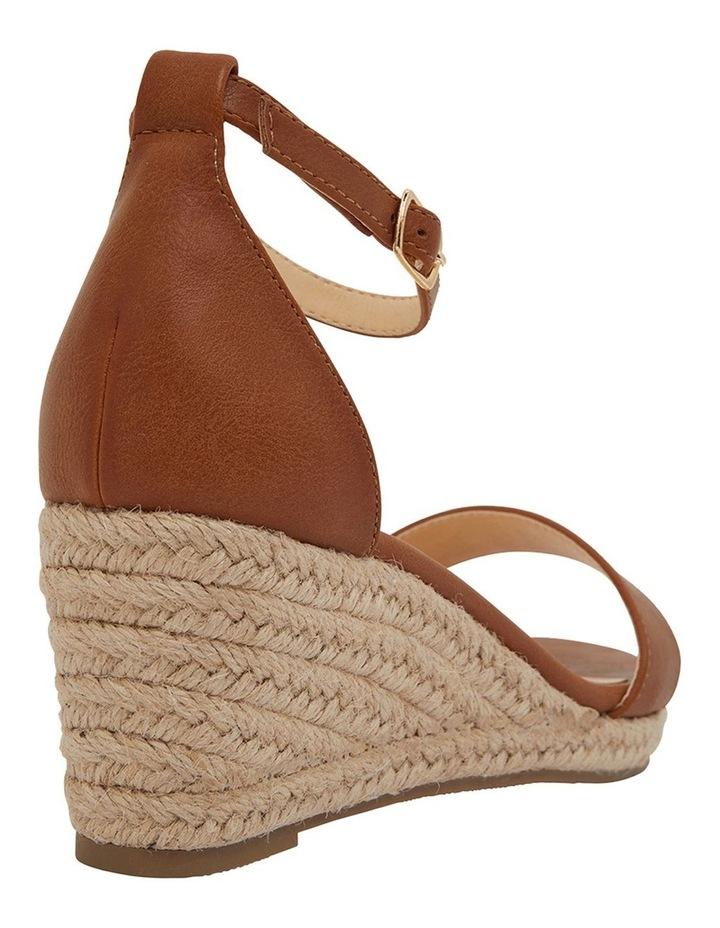 Bloom Tan Smooth Sandals image 4