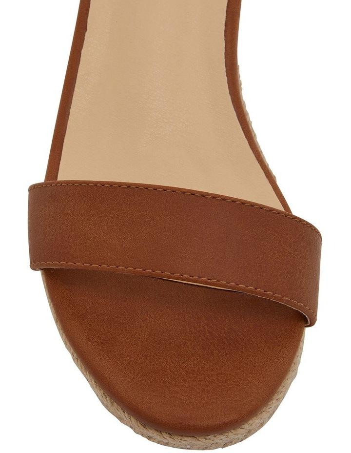 Bloom Tan Smooth Sandals image 6