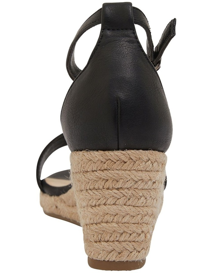 Bloom Black Smooth Sandals image 5