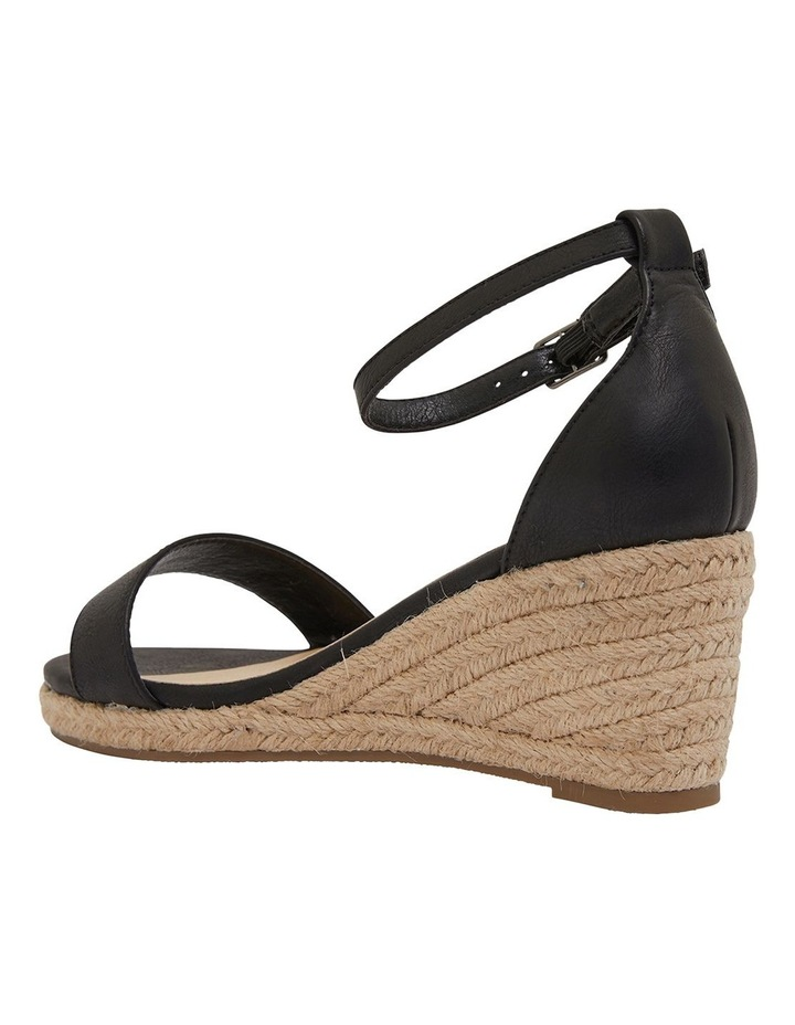 Bloom Black Smooth Sandals image 7