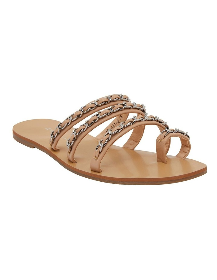 Catalina Nude Smooth Sandals image 2