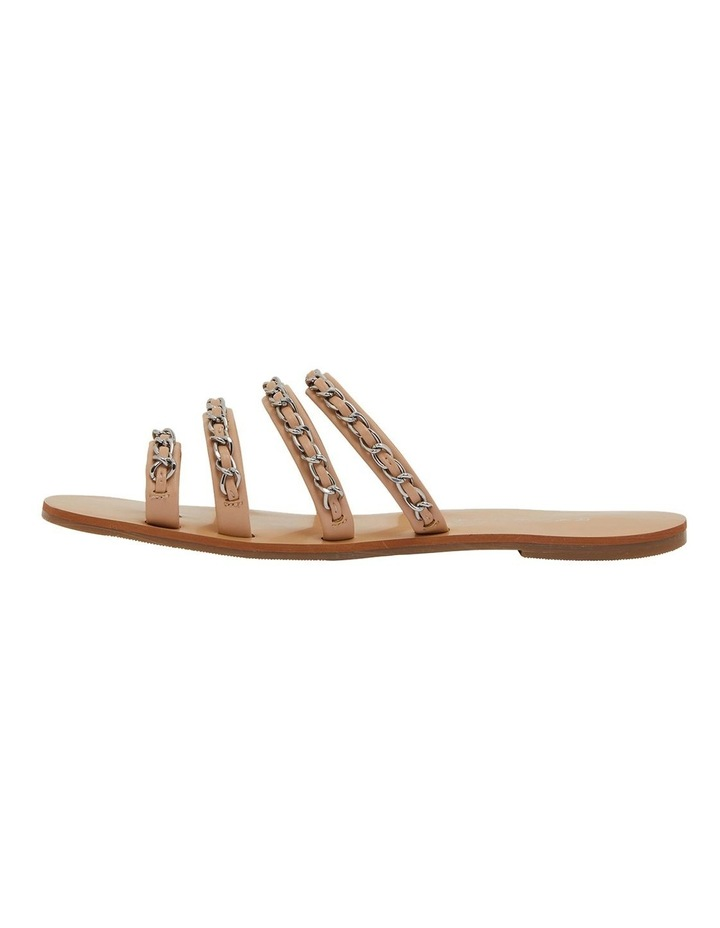 Catalina Nude Smooth Sandals image 3