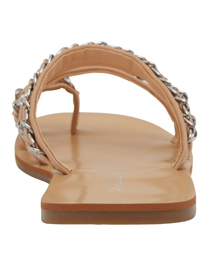 Catalina Nude Smooth Sandals image 5