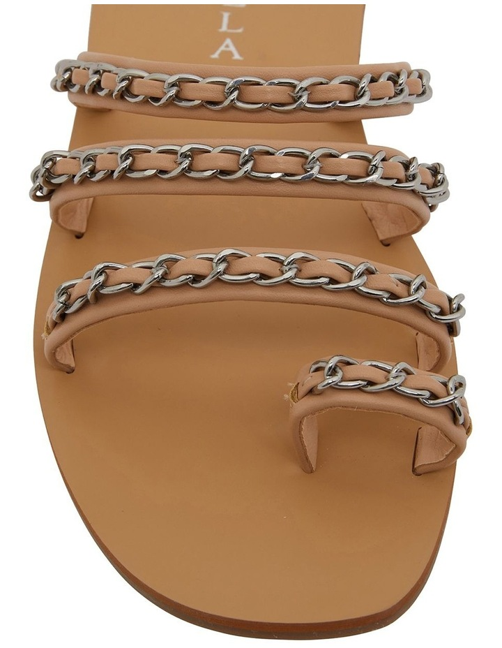 Catalina Nude Smooth Sandals image 6