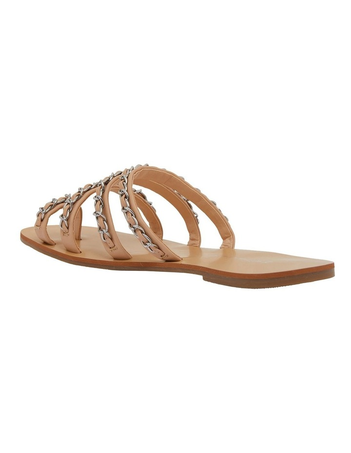 Catalina Nude Smooth Sandals image 7