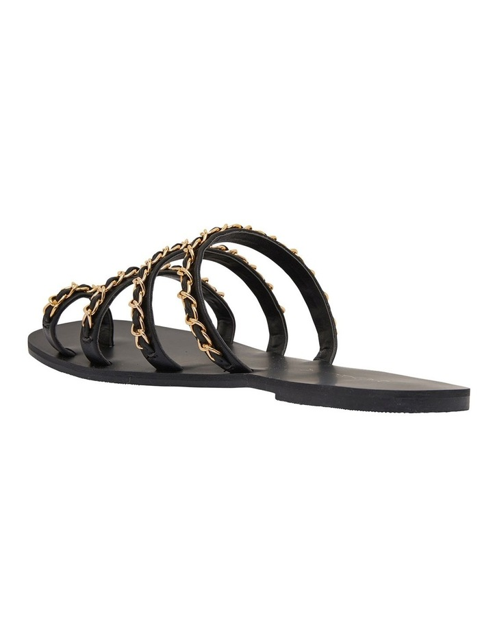 Catalina Black Smooth Sandals image 6