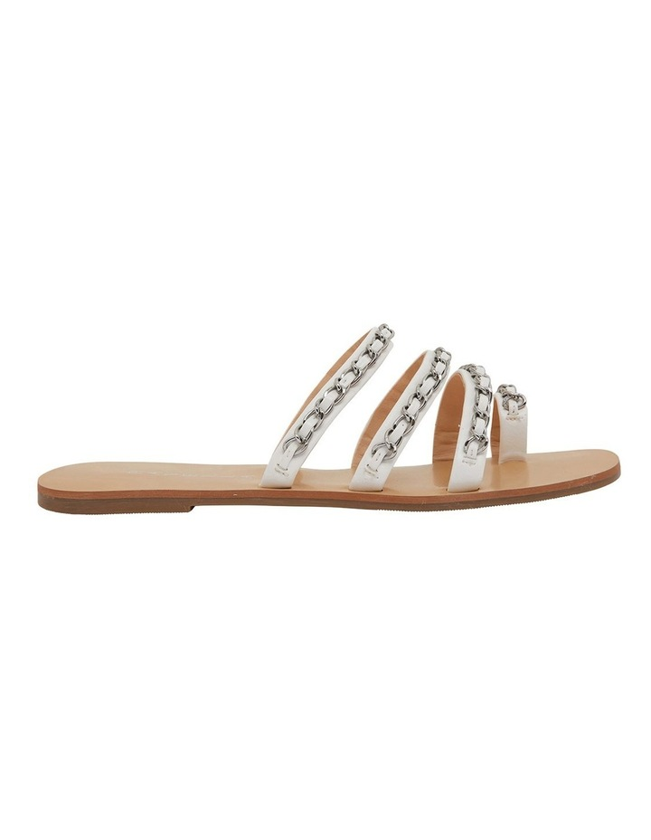 Catalina White Smooth Sandals image 1