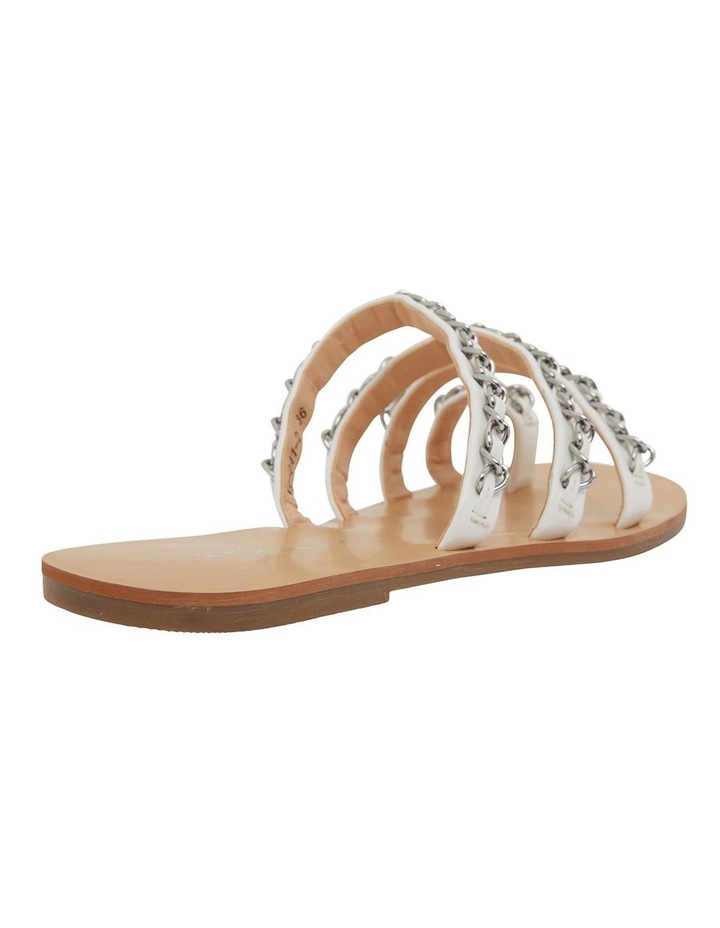 Catalina White Smooth Sandals image 4