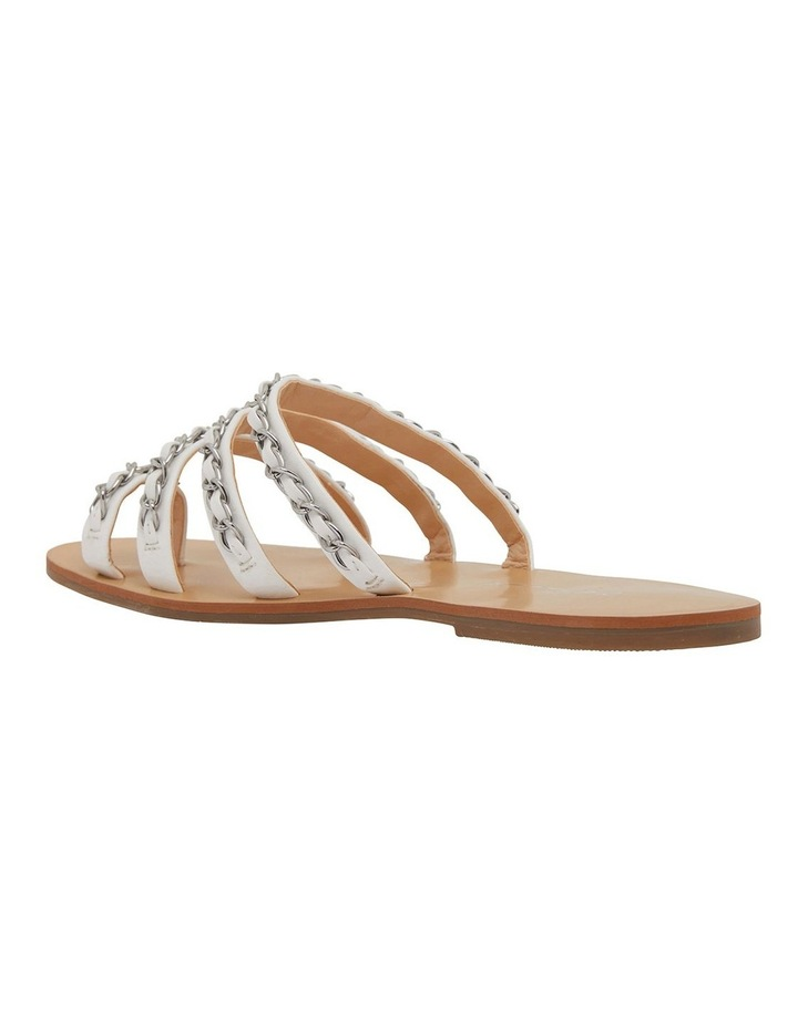 Catalina White Smooth Sandals image 7