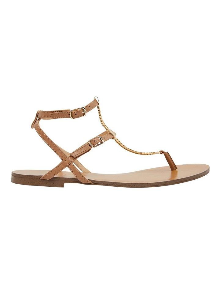 Saskia Light Tan Kid Sandals image 1