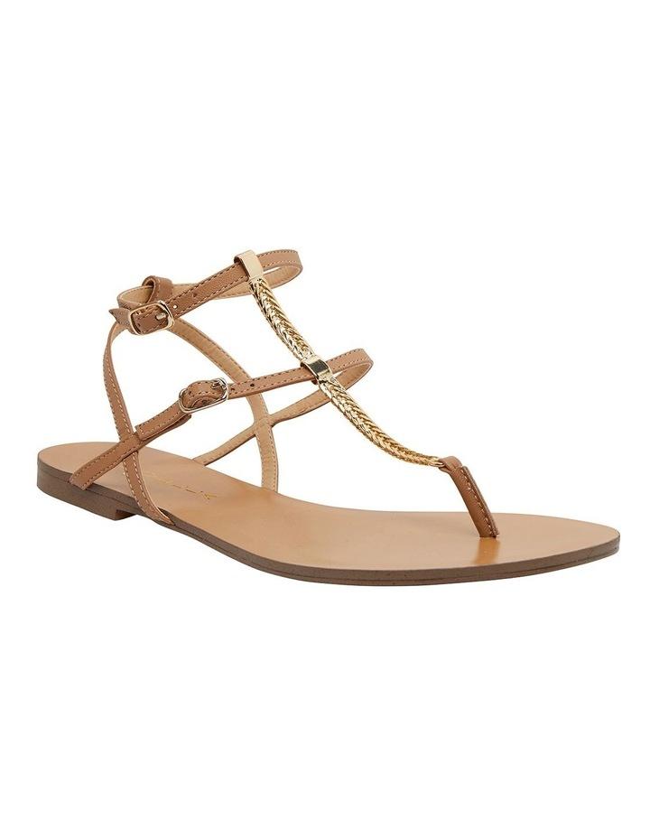 Saskia Light Tan Kid Sandals image 2