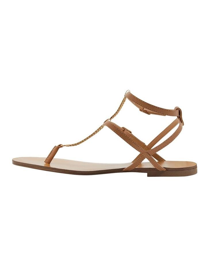 Saskia Light Tan Kid Sandals image 3