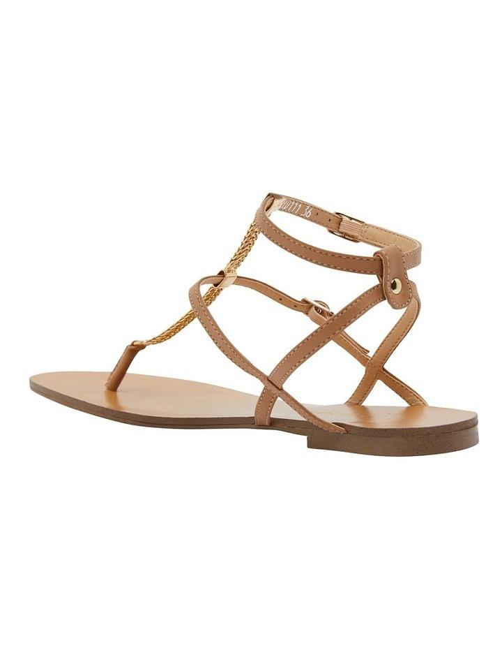 Saskia Light Tan Kid Sandals image 5