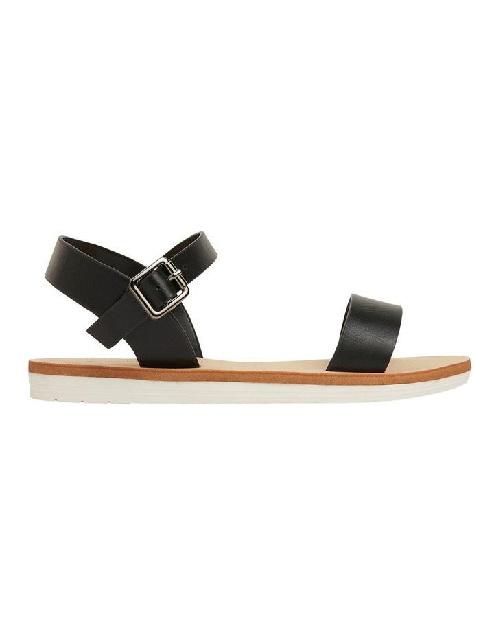 Salem Black Smooth Sandals image 1