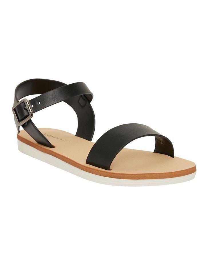 Salem Black Smooth Sandals image 2