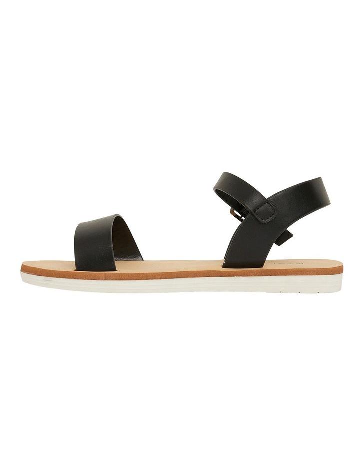 Salem Black Smooth Sandals image 3