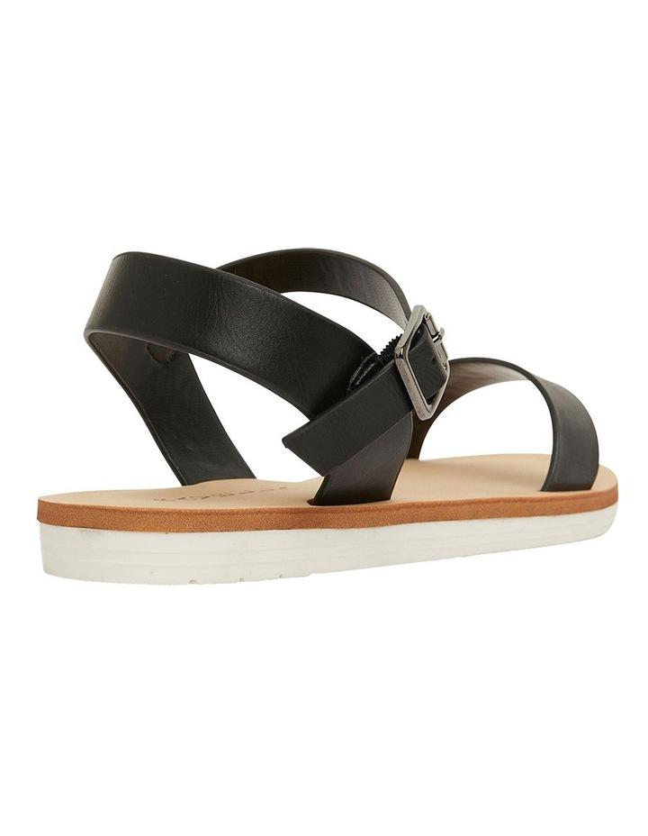 Salem Black Smooth Sandals image 4