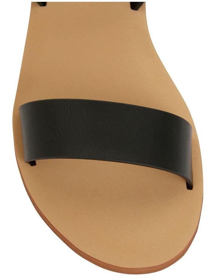 Salem Black Smooth Sandals image 6