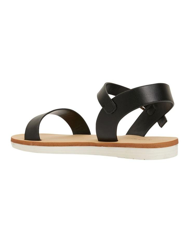 Salem Black Smooth Sandals image 7