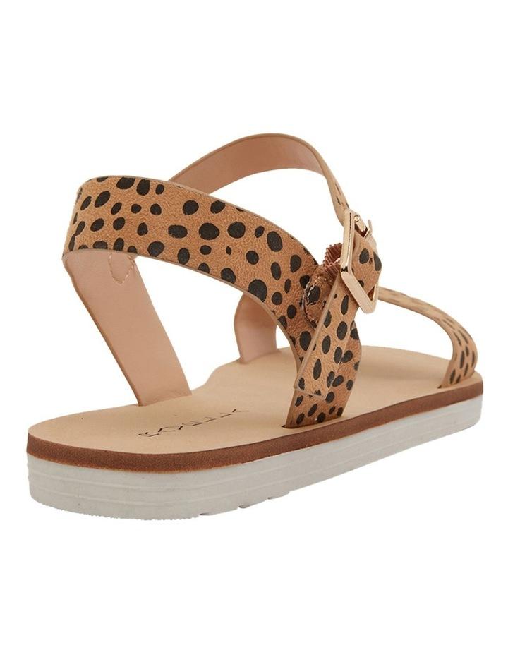 Salem Nude Cheetah Sandals image 4