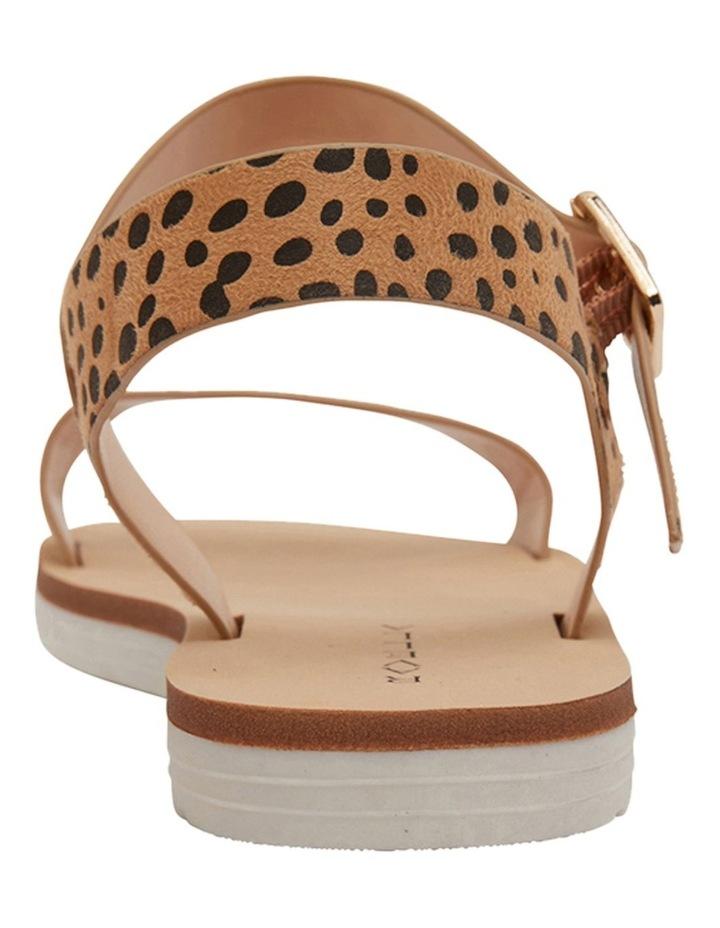 Salem Nude Cheetah Sandals image 5