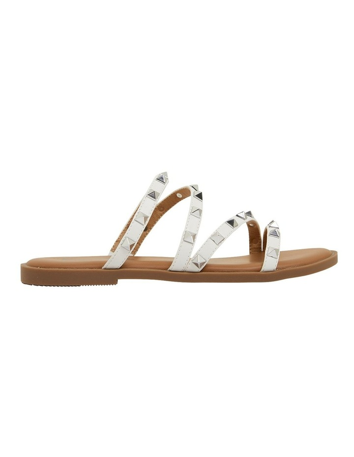 Carnival White Smooth Sandals image 1