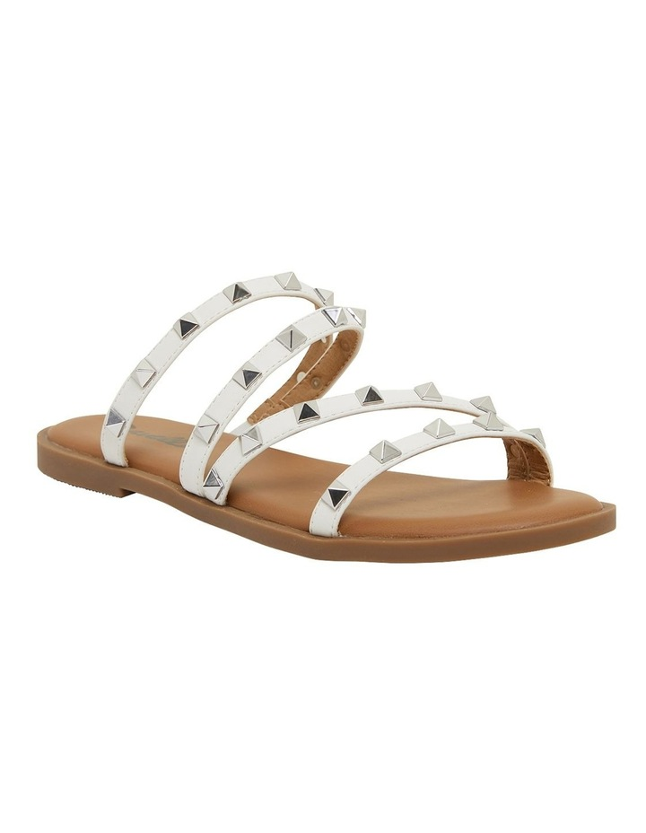 Carnival White Smooth Sandals image 2