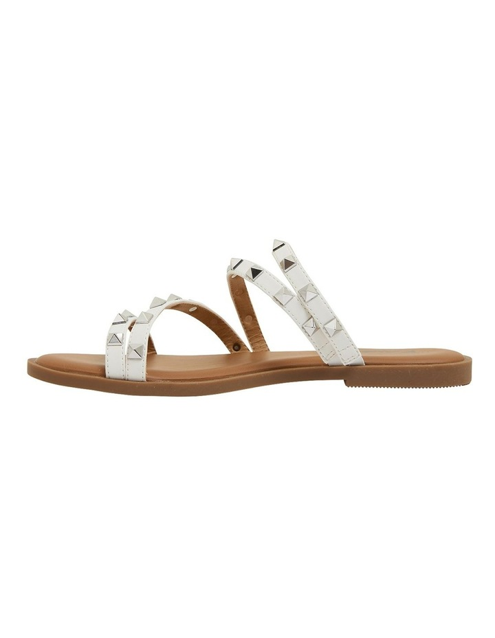 Carnival White Smooth Sandals image 3