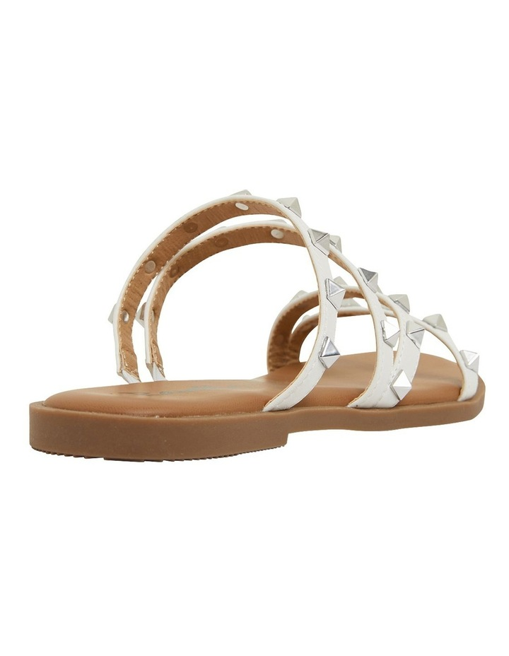 Carnival White Smooth Sandals image 4