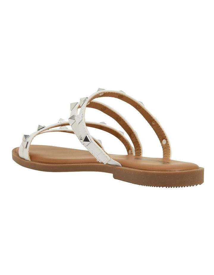 Carnival White Smooth Sandals image 6