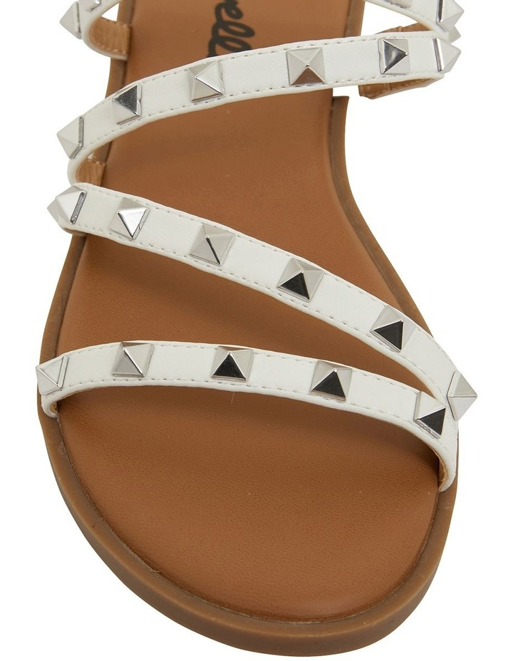 Carnival White Smooth Sandals image 7