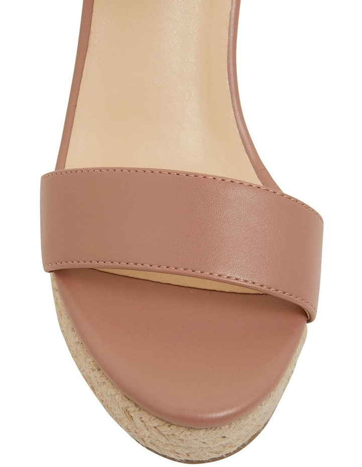 Amato Blush Smooth Sandals image 7