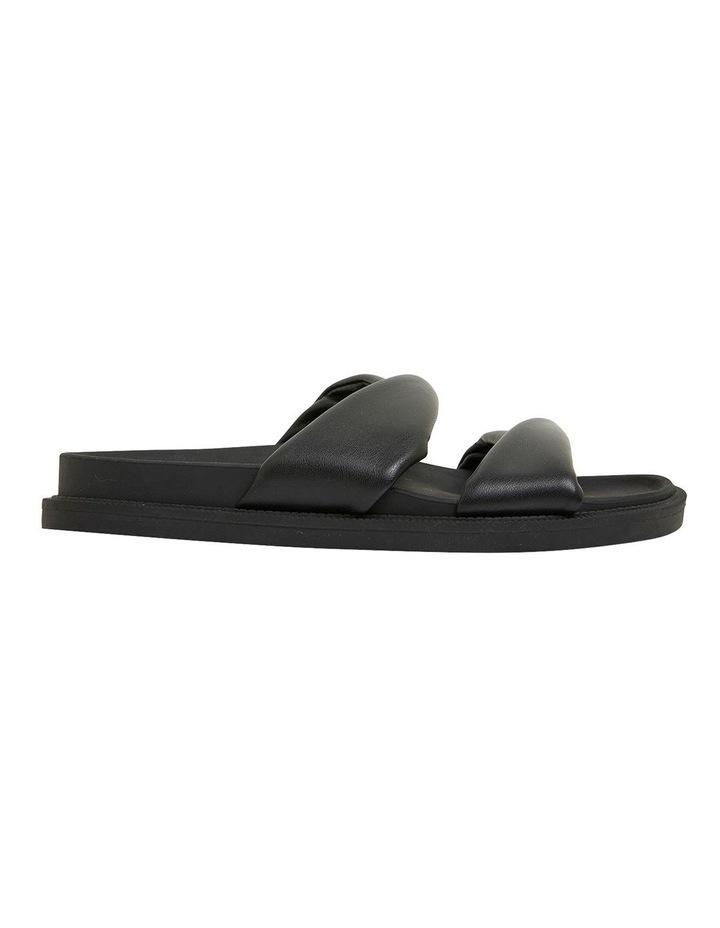 Ginny Black Smooth Sandals image 1