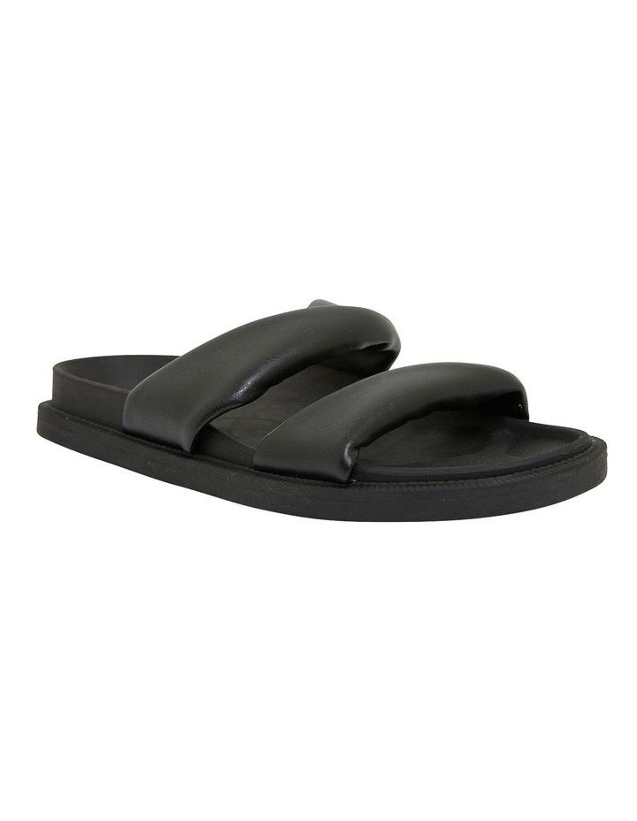 Ginny Black Smooth Sandals image 2