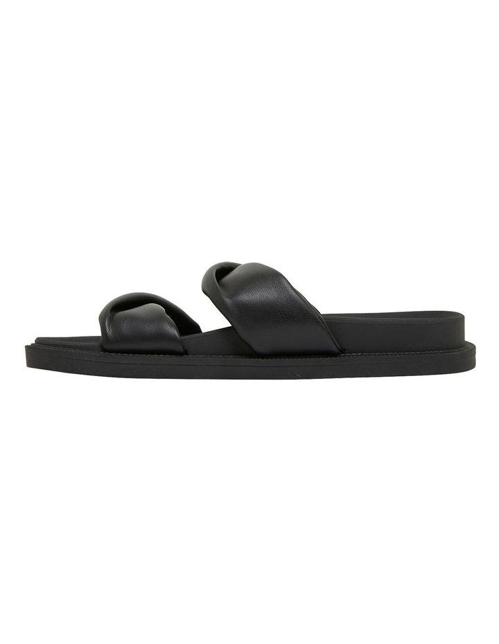 Ginny Black Smooth Sandals image 3