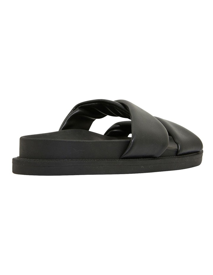 Ginny Black Smooth Sandals image 4