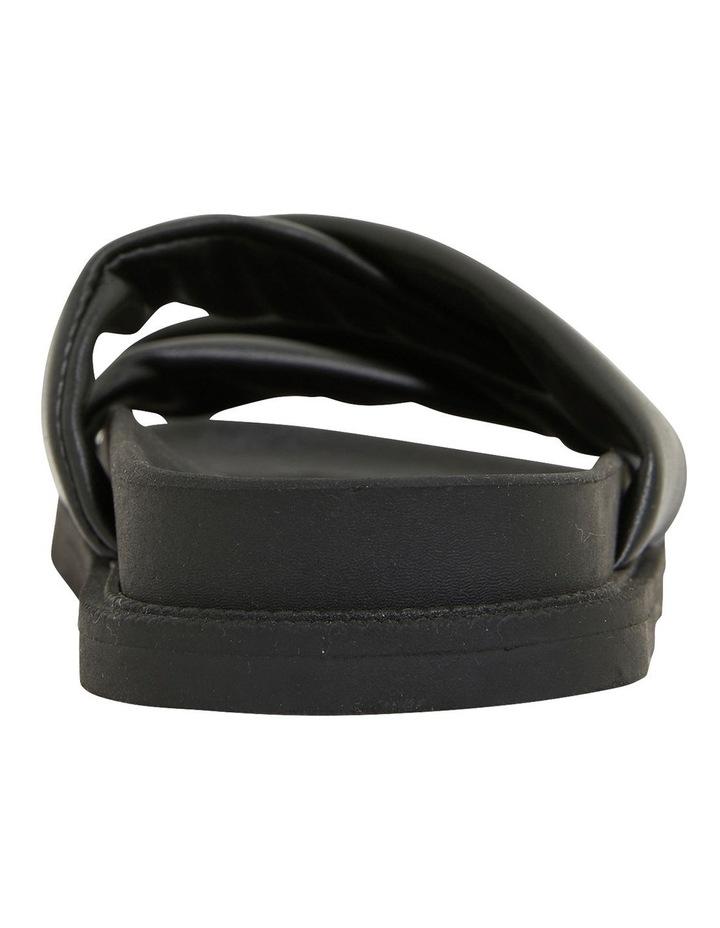 Ginny Black Smooth Sandals image 5